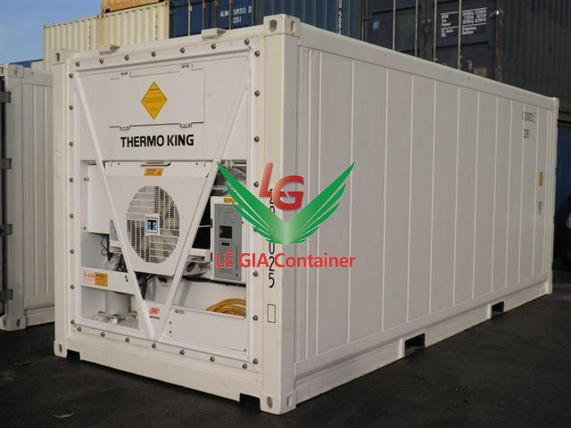 Container lạnh 20 feet mẫu 2