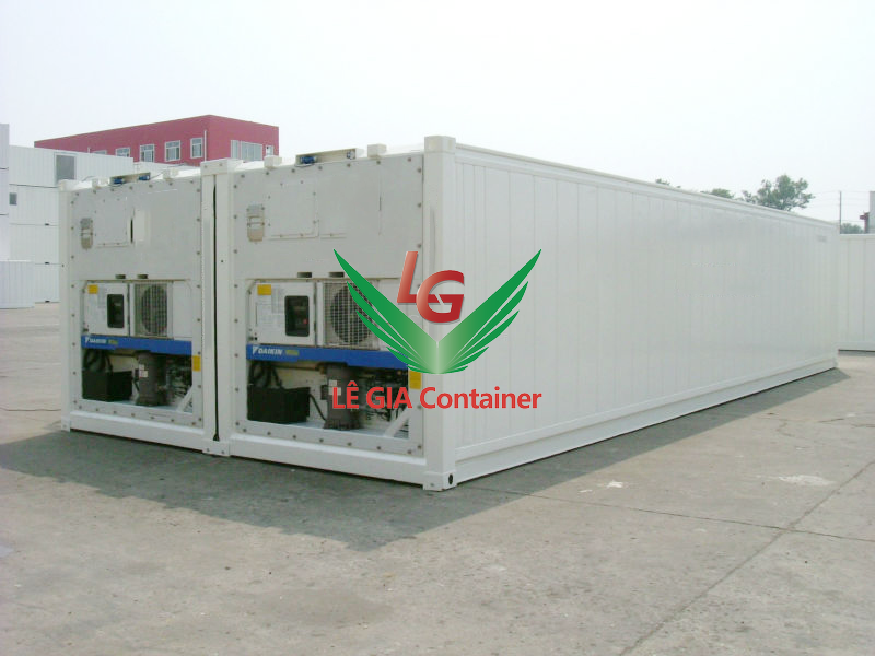 Container lạnh 40 feet mẫu 1