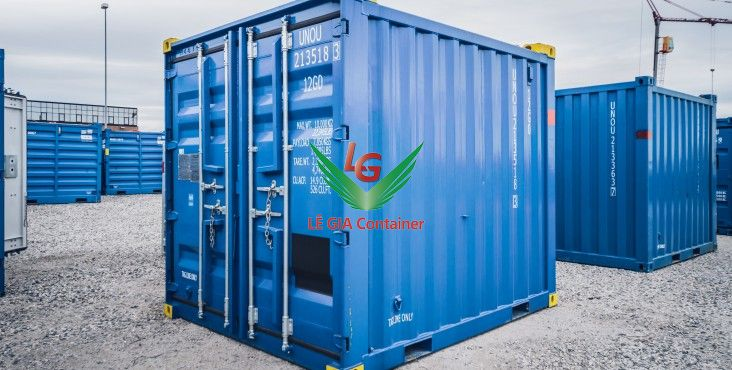 Container khô 10 feet (10ft dry container) mẫu 1