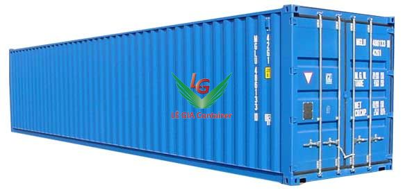 Container khô 40 feet (40ft dry cont.) thấp 2