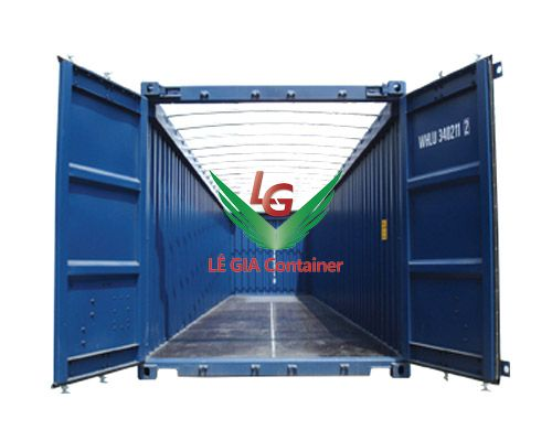 Container Open Top 40 feet mẫu 2
