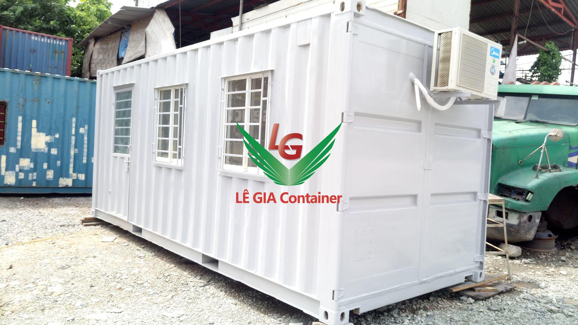 Container văn phòng 20 feet mẫu 2