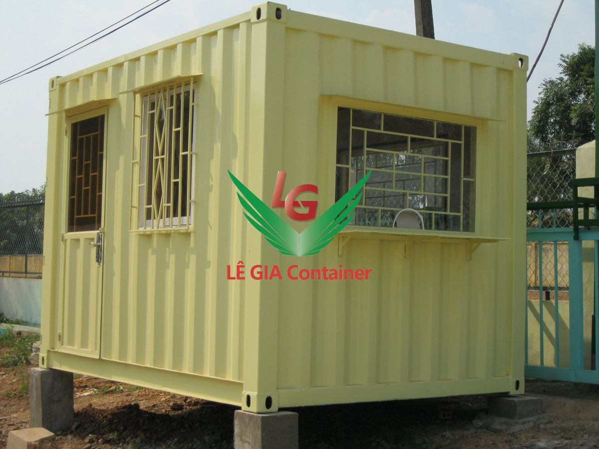Container Bảo Vệ 10 feet
