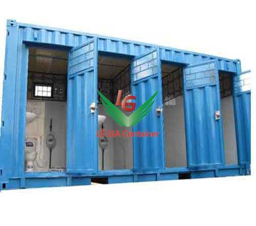 Container Toilet 20 feet mẫu 3